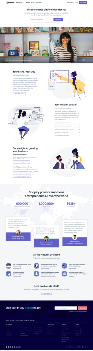 Shopify India (2018)