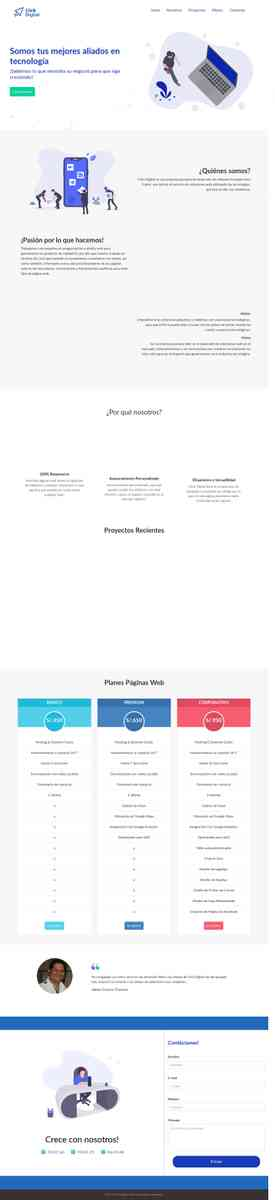 Web Pages / Landing Pages