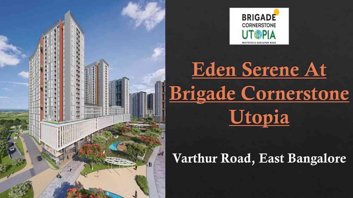 Serene Eden At Brigade Cornerstone Utopia Whitefield