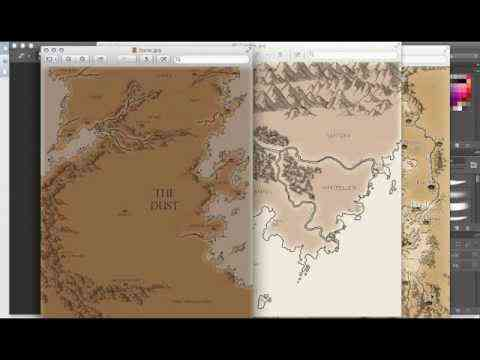 maps - Fantasy Mapmaking (video)