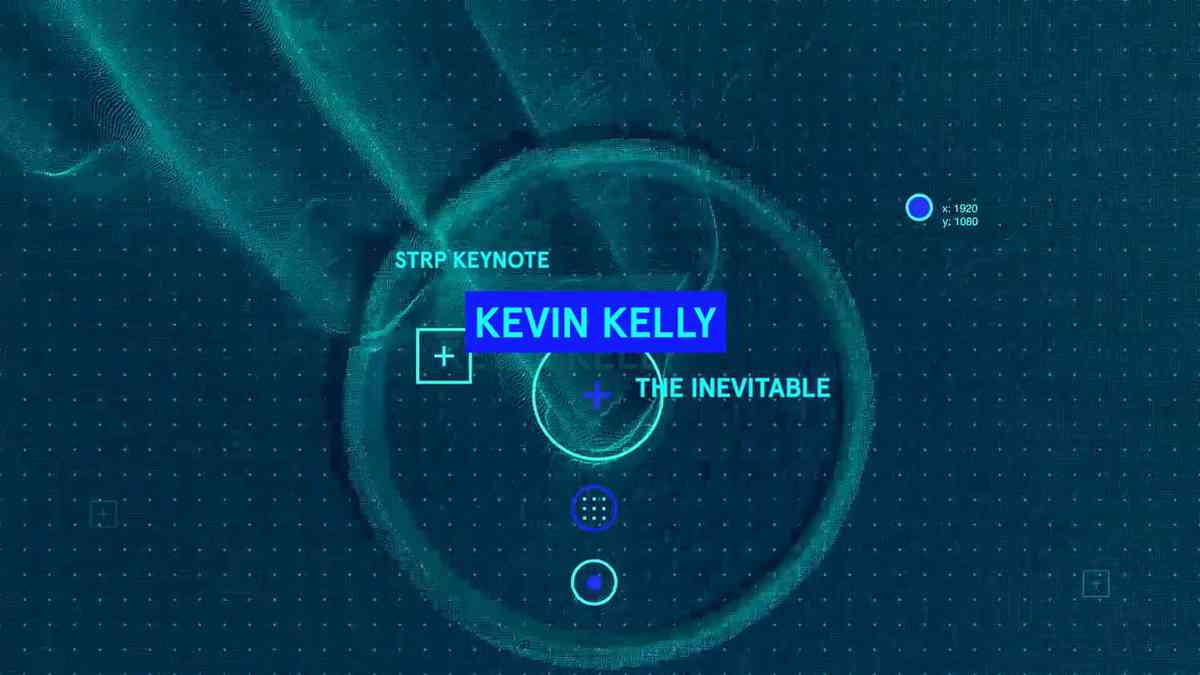 Kevin Kelly - The Inevitable (Intro and Q&A with Koert …