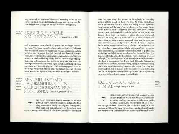 Michel de Montaigne of Books | Page spread