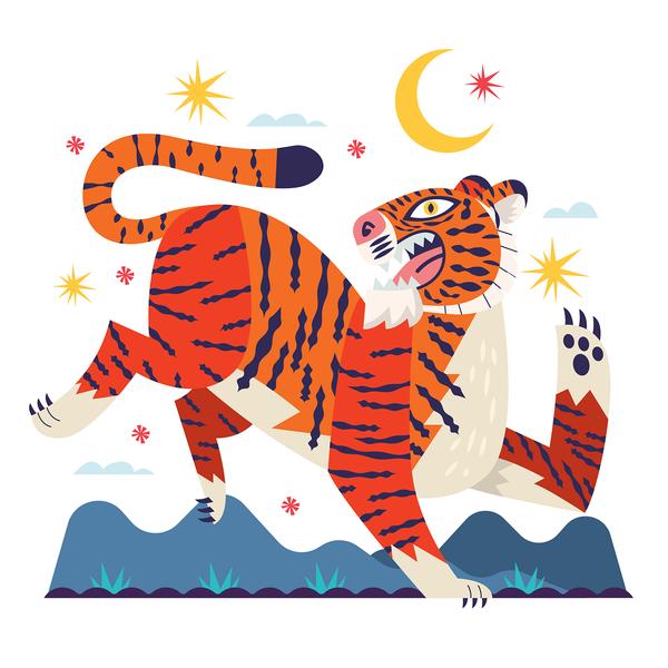 Zodíaco Chino | Tiger