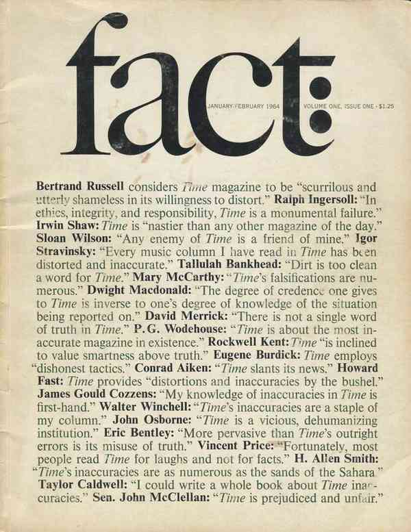 Fact magazine covers - Fonts In Use