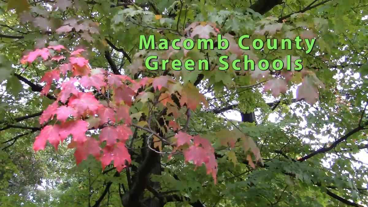 Macomb County Green Schools 2016-2017