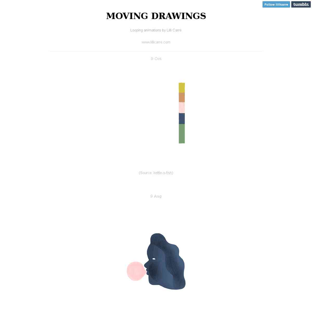MOVING DRAWINGS