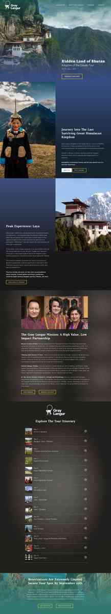 Gray Langur Tours: Bhutan Travel, Treks and Cultural Tours
