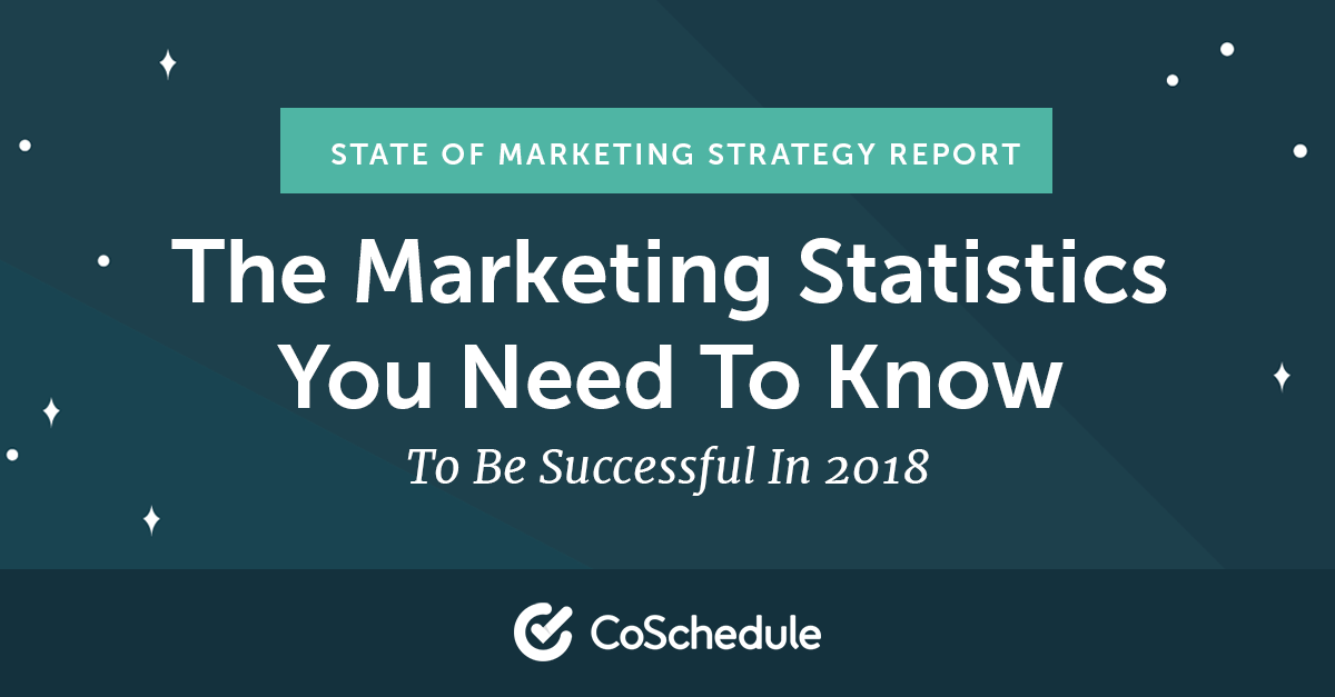 2018 Marketing Statistics To Become 538% More Successful