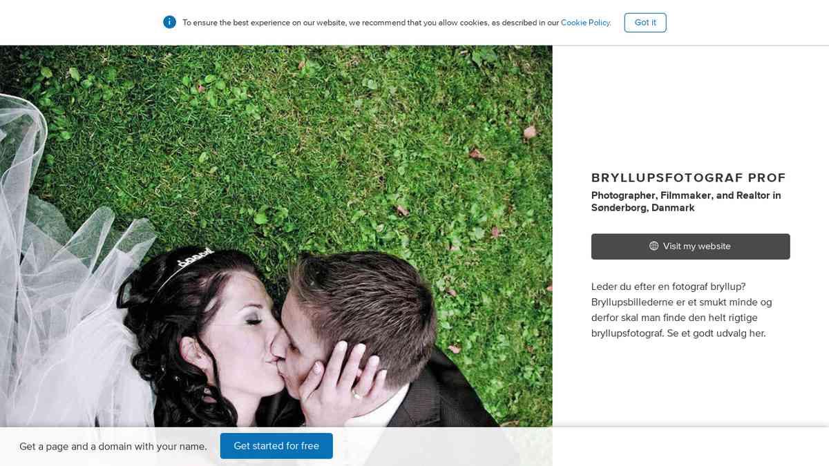 Bryllupsfoto Pro