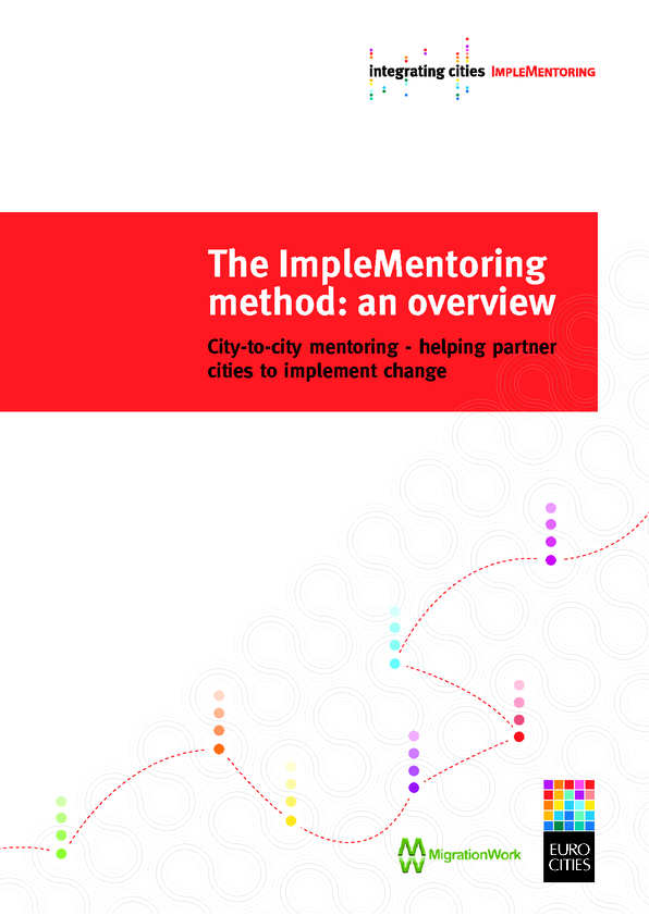 The ImpleMentoring method: City-to-city mentoring – helping partner cities to implement change