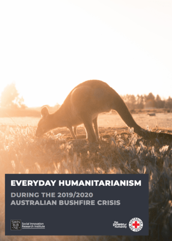 RESEARCH: Everyday humanitarianism during the 2019/2020 Australian bushfire crisis