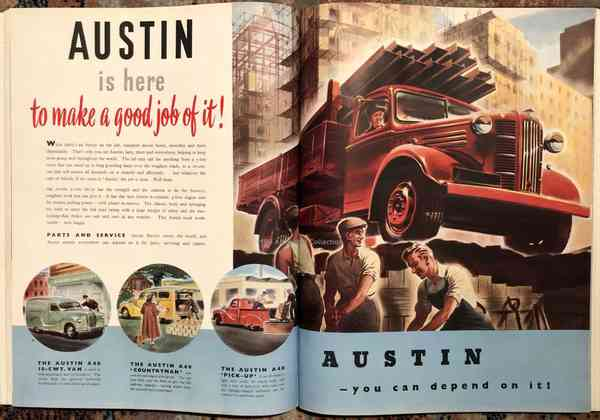 Austin commercial trucks