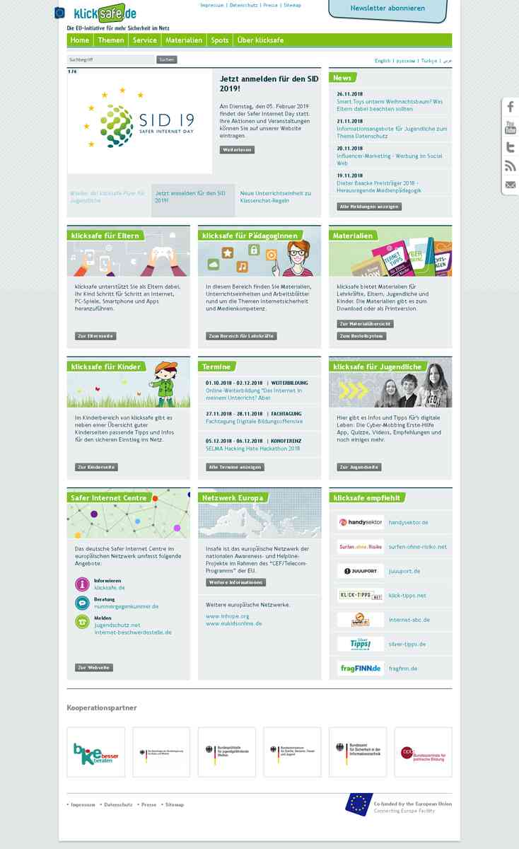 klicksafe.de: Die EU-Initiative für mehr Sicherheit im Netz