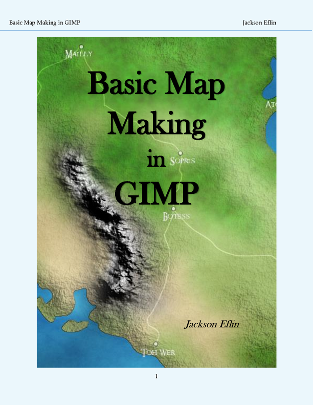 maps - (pdf) J.Eflin's tutorial
