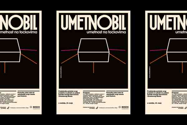 Umetnobil, #poster