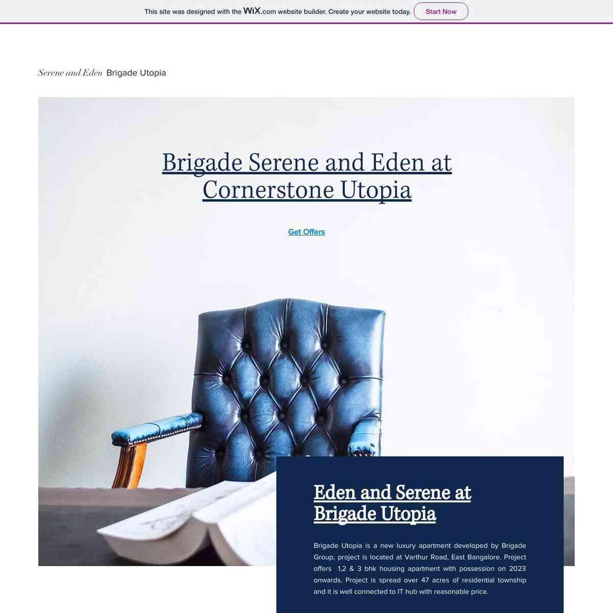 Eden and Serene at Brigade Cornerstone Utopia