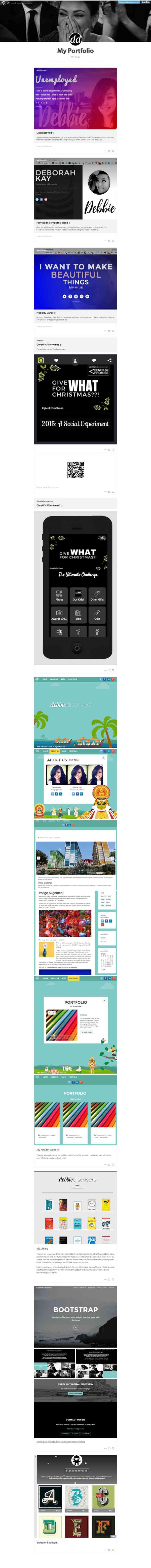 Tumblr Web Portfolio