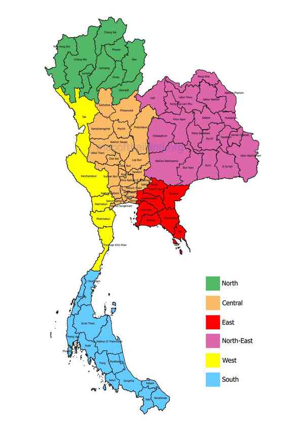 map-of-thailand