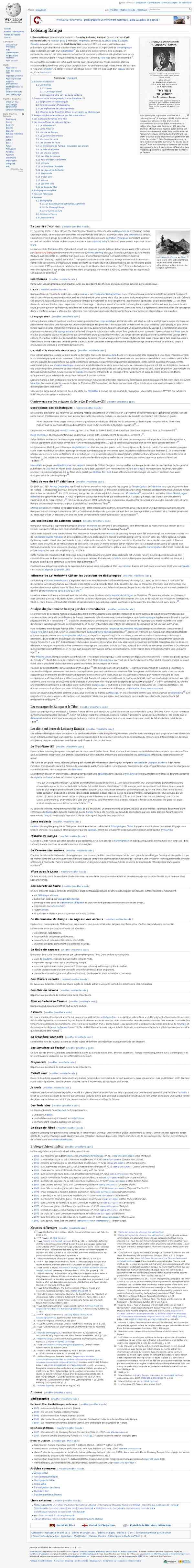 Lobsang Rampa — Wikipédia