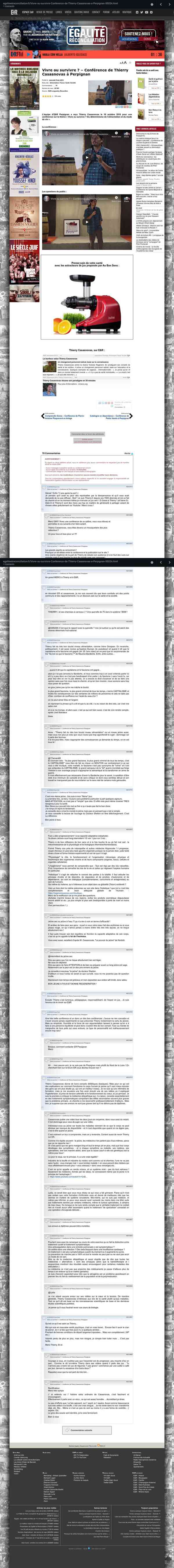 egaliteetreconciliation.fr/Vivre-ou-survivre-Conference-de-Thierry-Casasnovas-a-Perpignan-55024.htm…