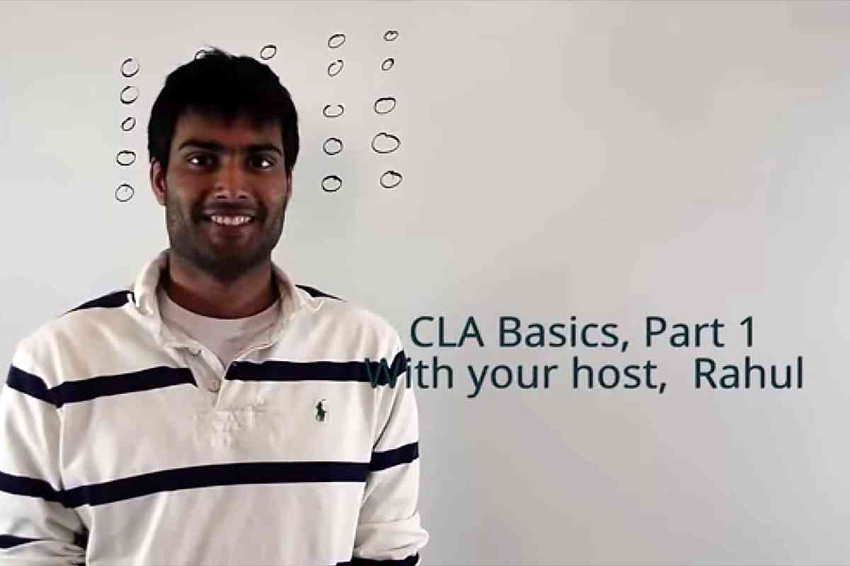 CLA Basics part 1
