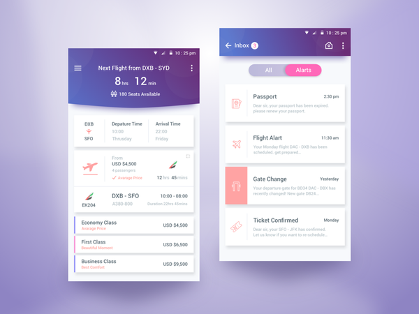 Flight Schedule App by Rifayet Uday - Dribbble