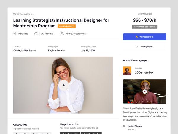 Learnexus.com. Project details
