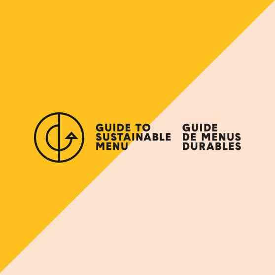 Proteins - Guide des menus durables