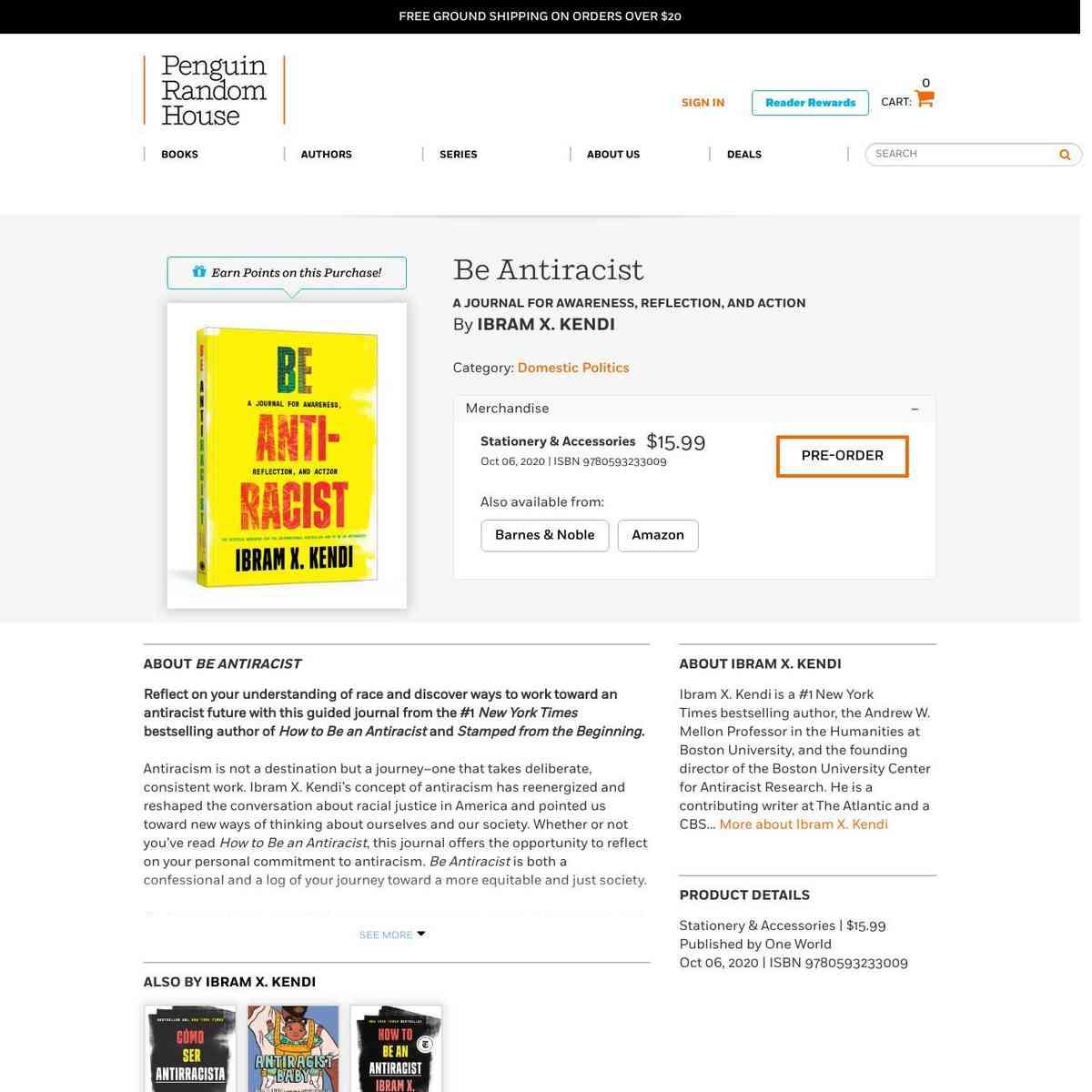 Be Antiracist by Ibram X. Kendi: 9780593233009   PenguinRandomHouse.com: Books