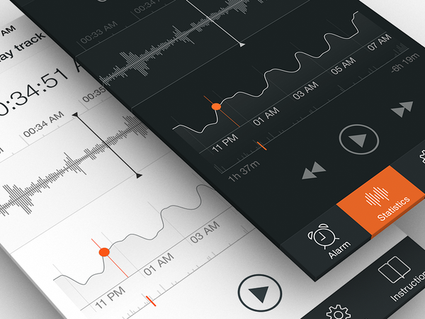 Sleep Tracker | Part 2 by Ramotion - Dribbble