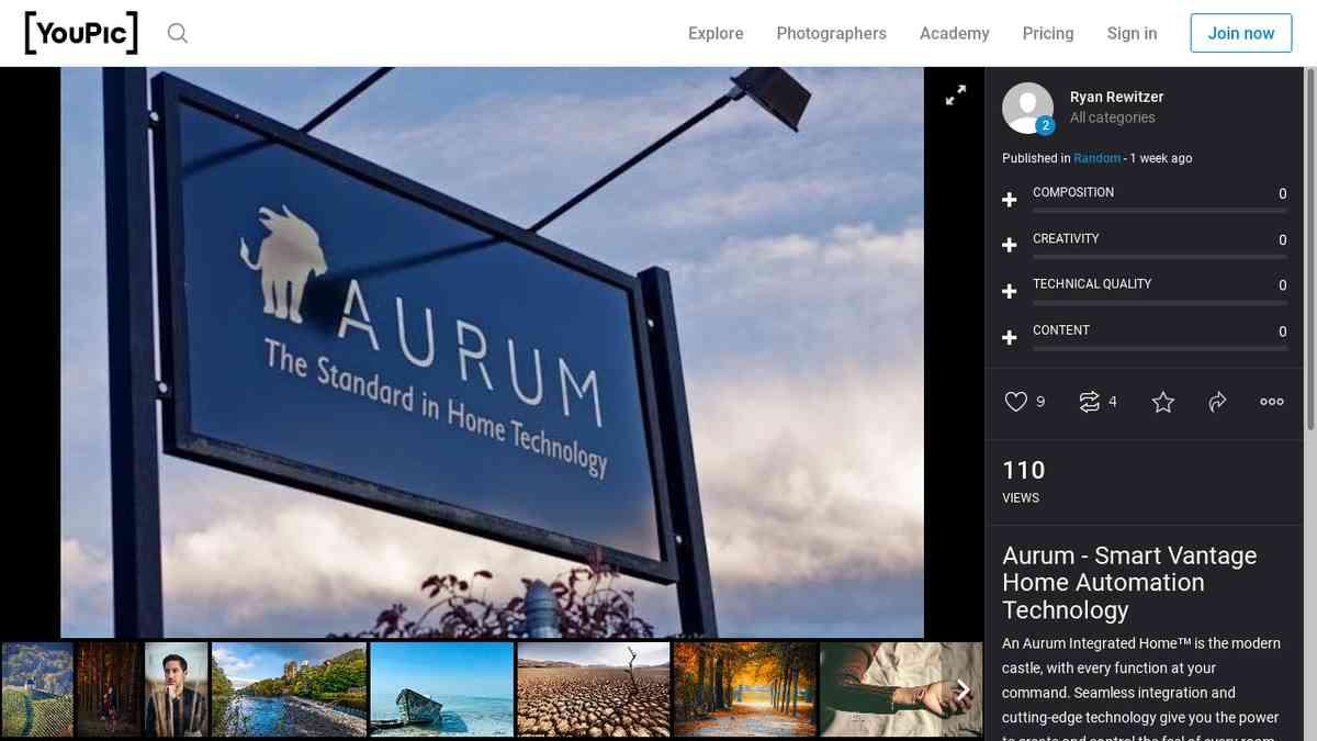 Aurum - Smart Vantage Home Automation Technology