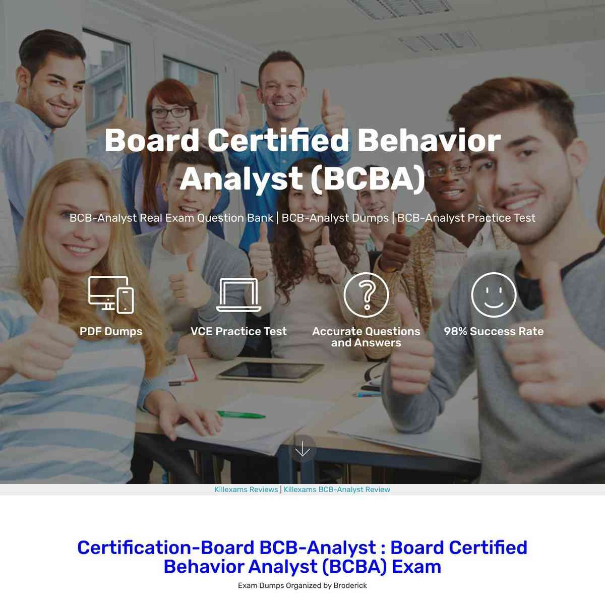 Exact copy of BCB-Analyst Latest Topics are here to download