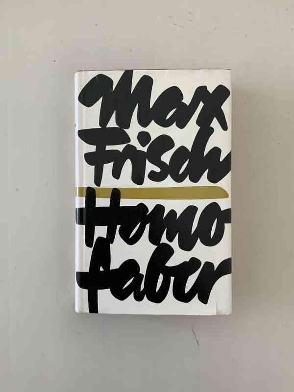 Homo Faber by Max Frisch, Deutscher Bücherbund, 1957