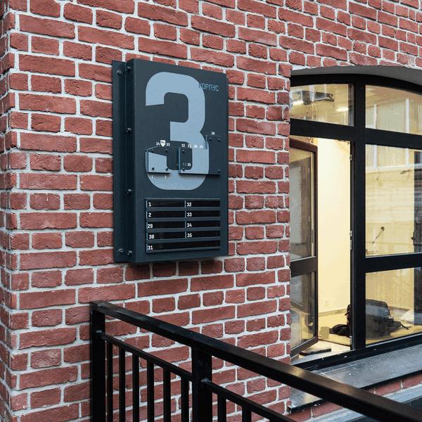 Loftec & Kleinhouse | Building number