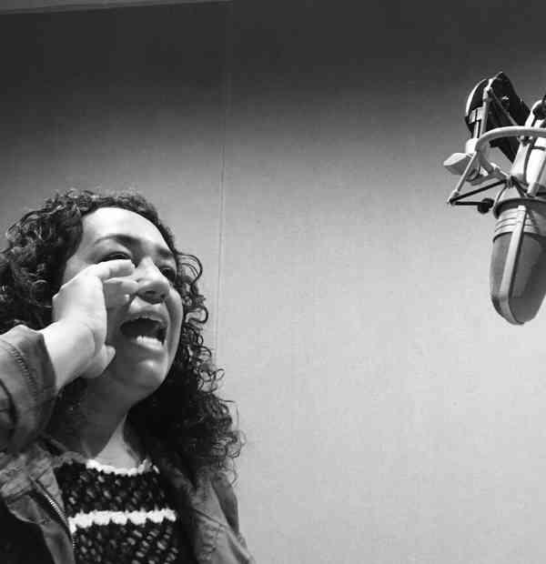 La garganta, el grito y la voz. Montserrat Palacios