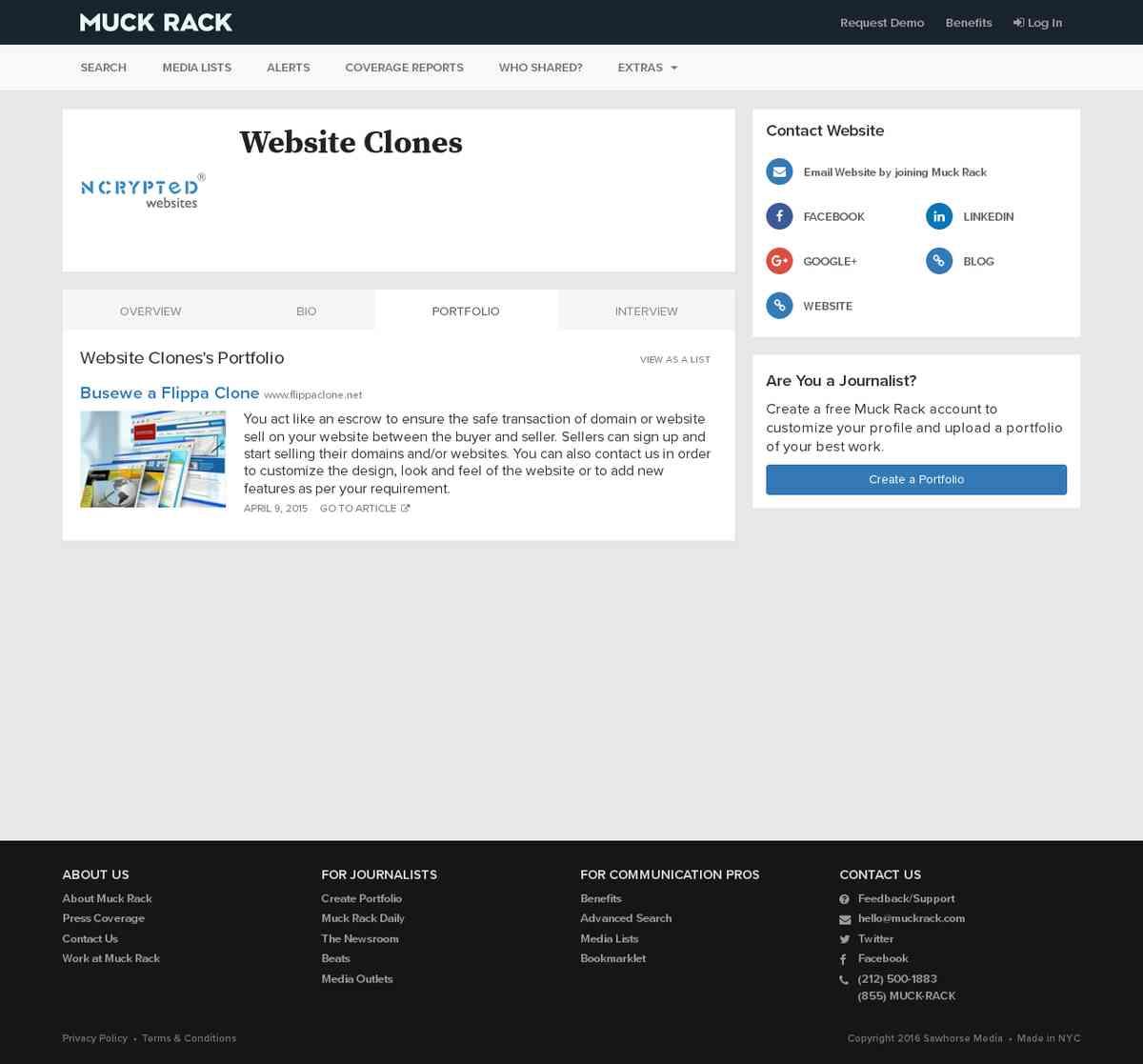 muckrack.com/website-clones/portfolio/KQh/busewe-a-flippa-clone
