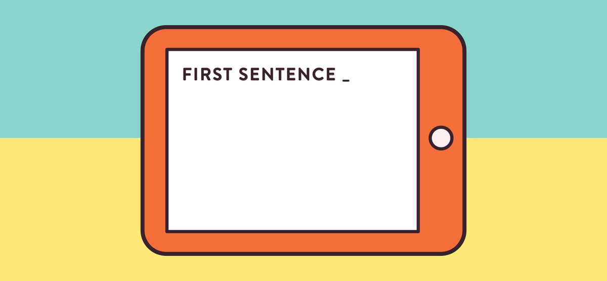 The First Word: How to Begin Writing the First Sentence - MailPoet