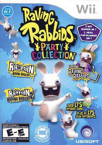 Rayman. Raving Rabbids Party Collection