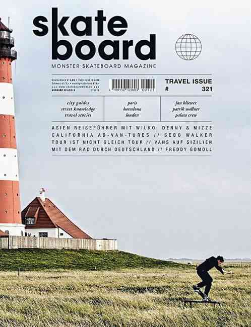 Skateboard (Germany) #magazine #cover #skateboard still-life and rule of thirds. washed out colors …