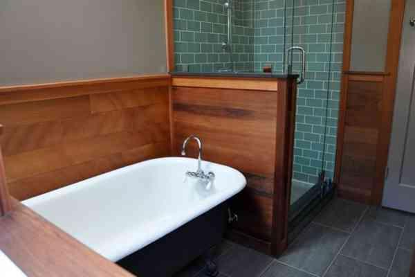 Redwood Bath - Craftsman - Bathroom - San Francisco - by Lee Tollefsrud