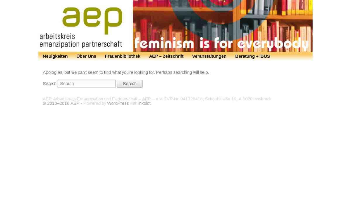 AEP - Arbeitskreis Emanzipation & Partnerschaft