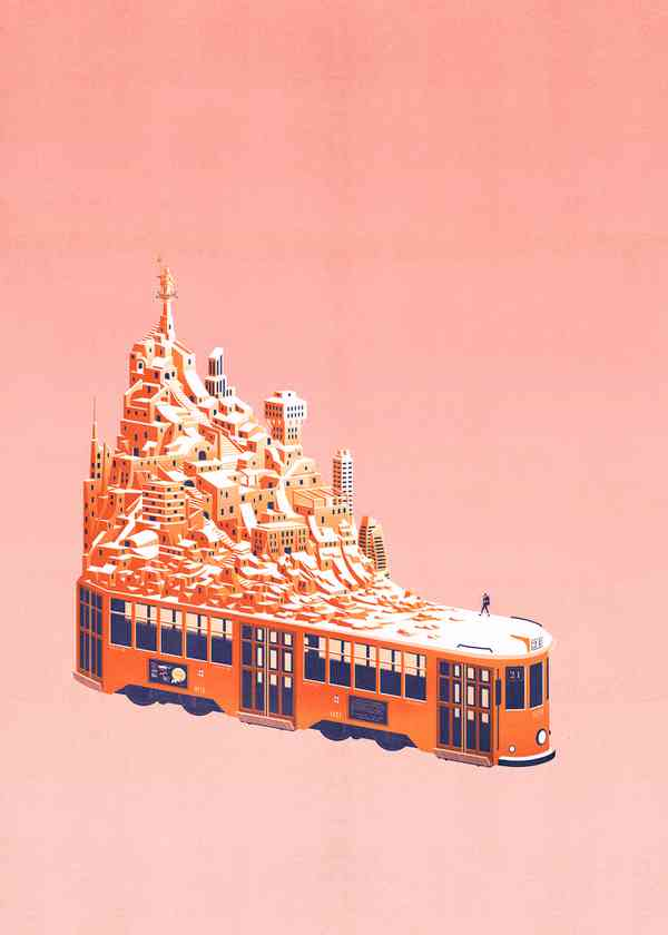 Conceptual Illustrations | Bus