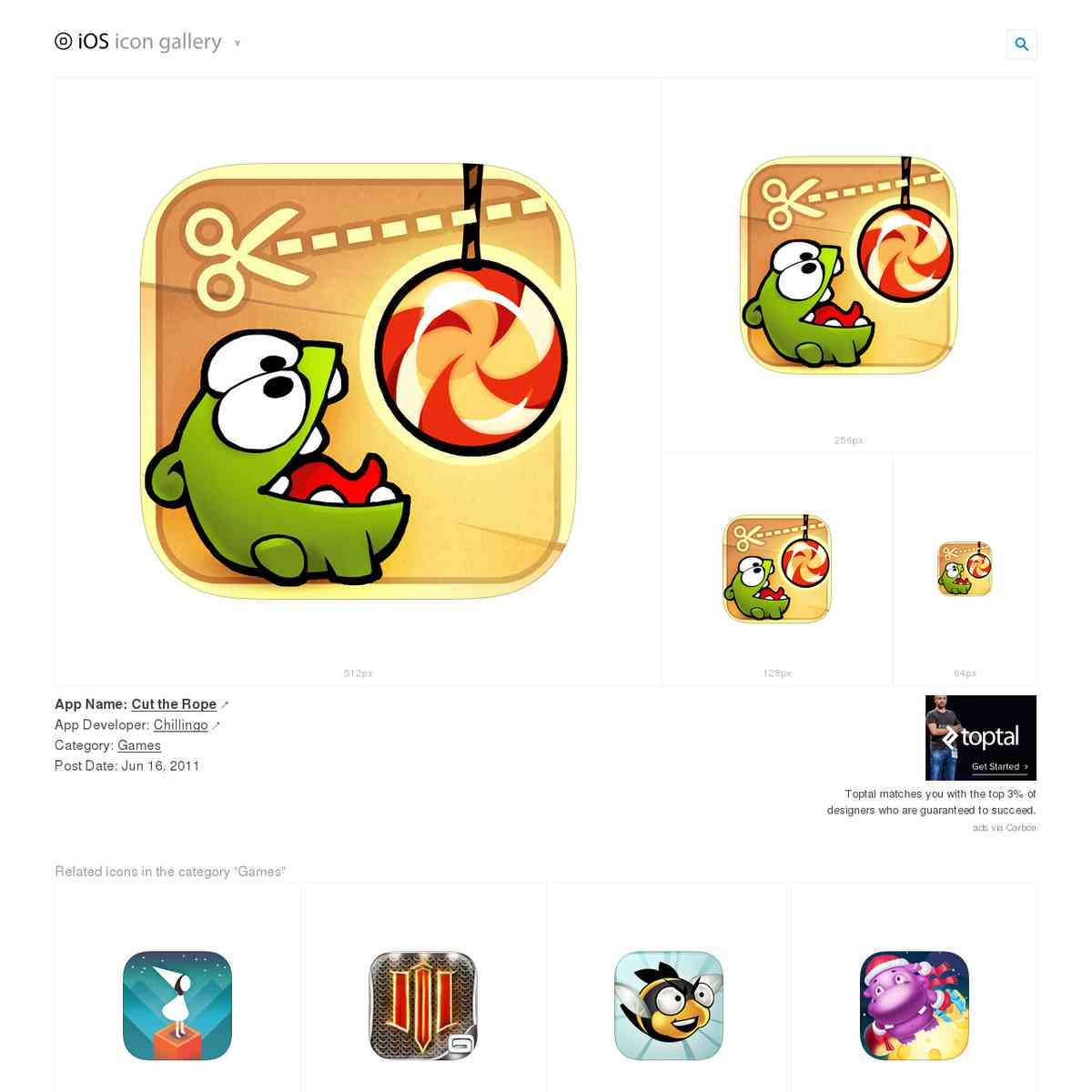 iosicongallery.com/games/cut-the-rope/