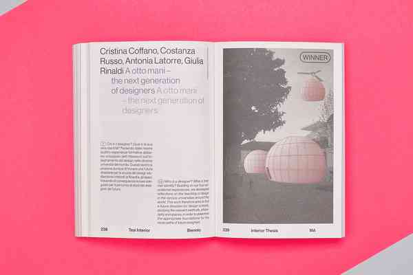 NABA Design Award | Page spread