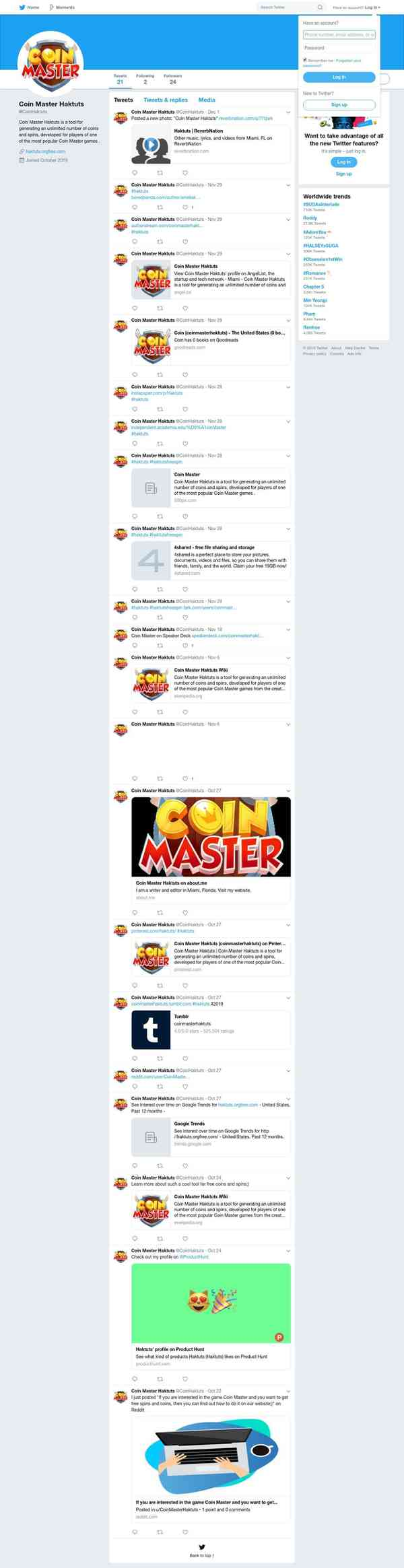 spin coin master haktuts.com