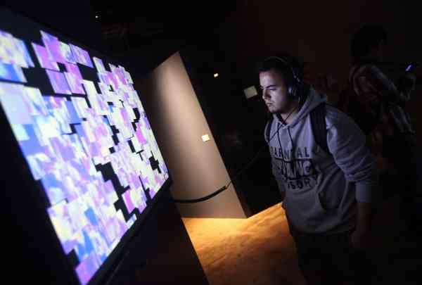 Plataformas de la imaginación: Inauguración Literatura electrónica: política y cuerpo en el pre…
