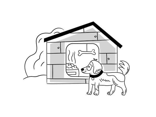 Nankin Illustrations | Dog