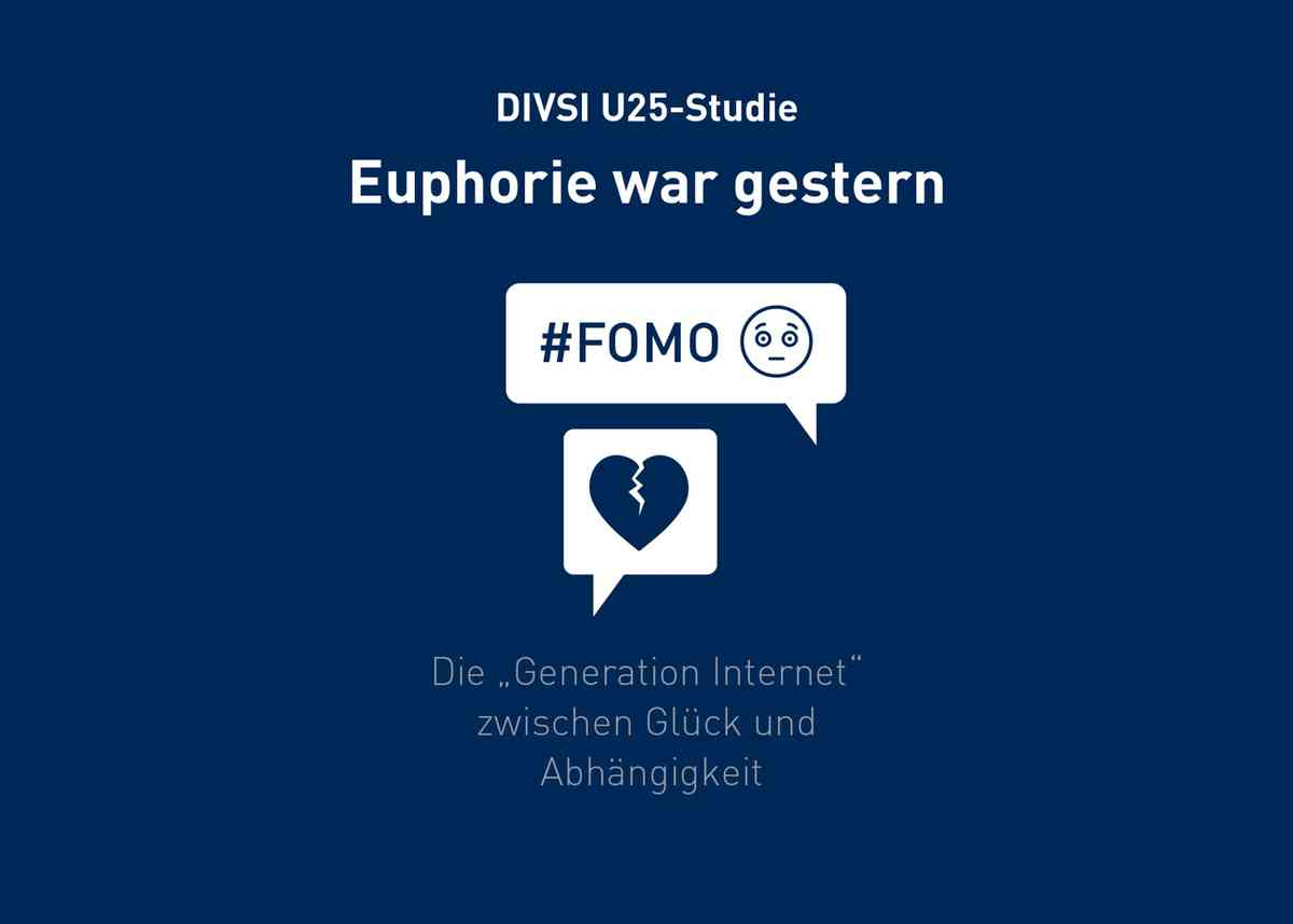 DIVSI U25-Studie: Euphorie war gestern - DIVSI