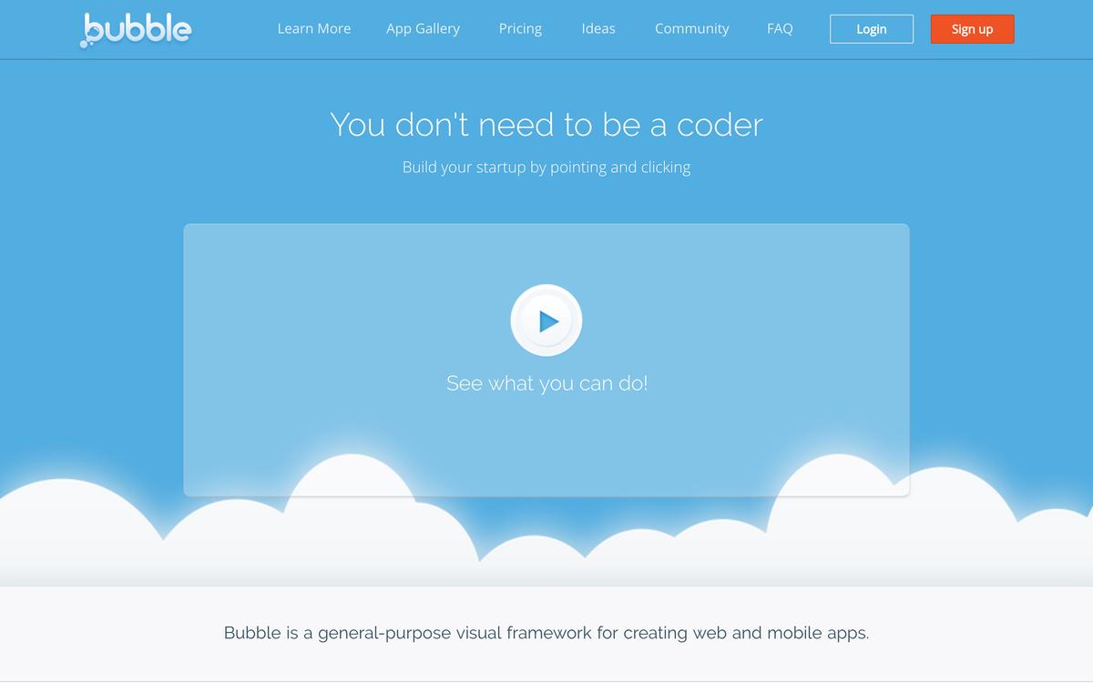 Bubble - Visual Programming