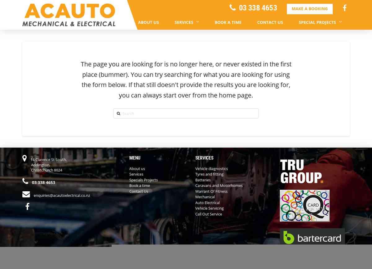 Car Service Deals Christchurch → AC Auto Electrical
